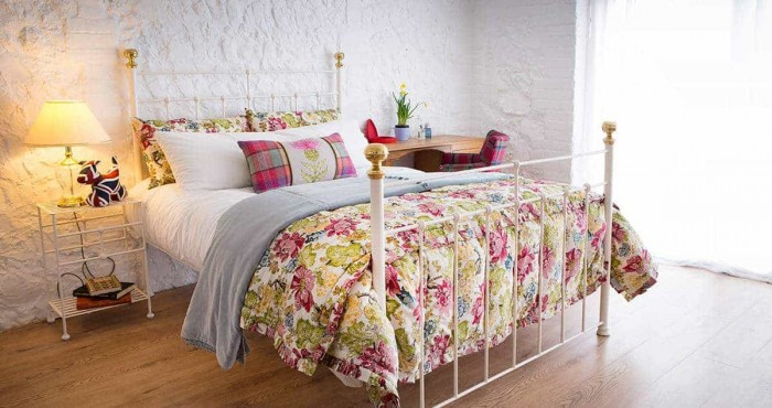 Charlotte wrought iron bed