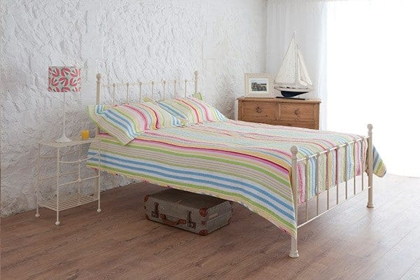 grace ivory iron bed