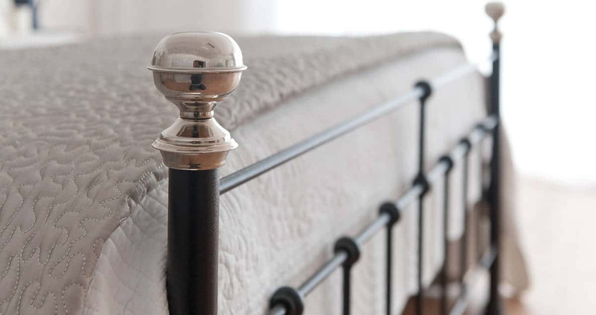 Sophie wrought iron bed