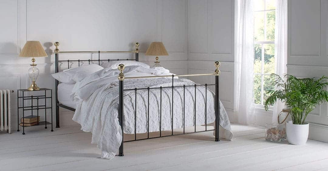 Albert brass bed