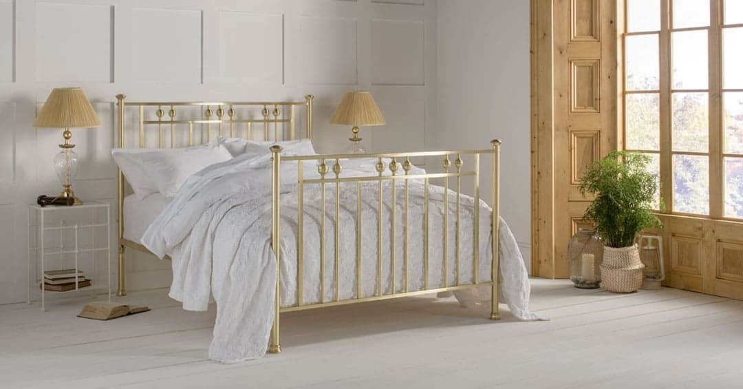 Rosie Brass Bed