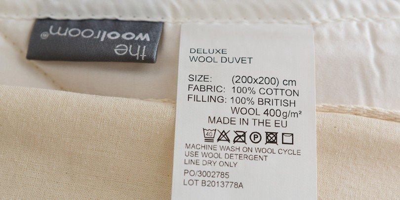medium wool duvet