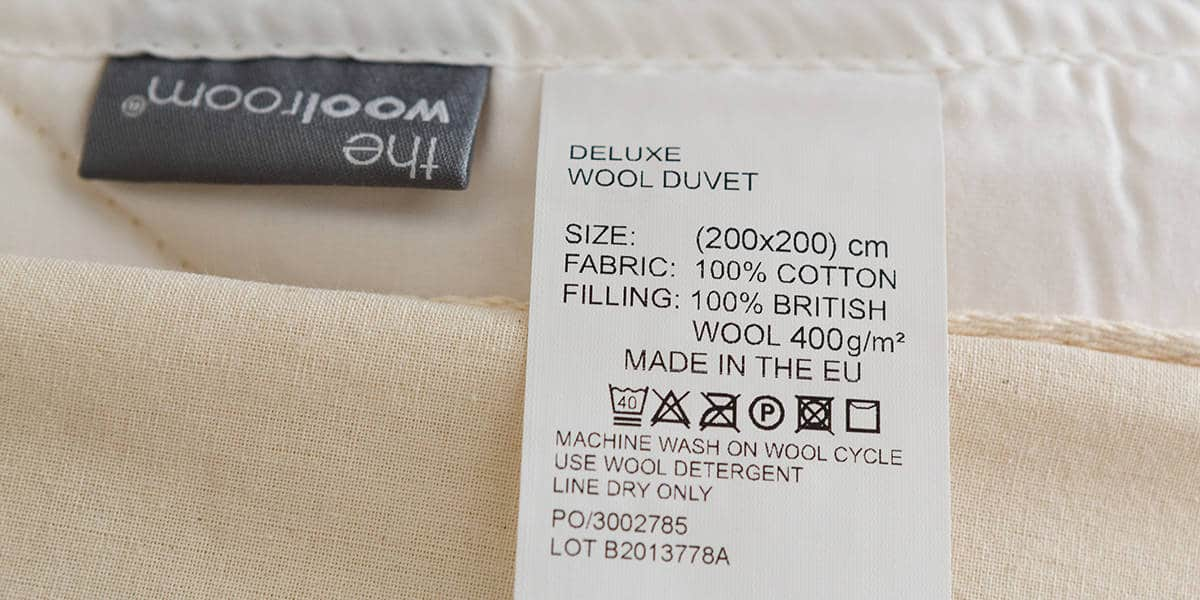 medium wool duvet