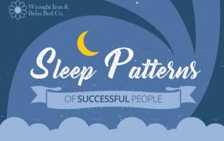 sleeping patterns of successful people