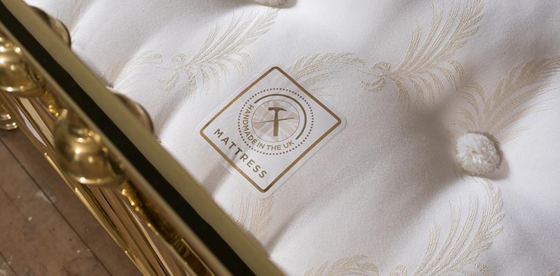 hand made mattress logo