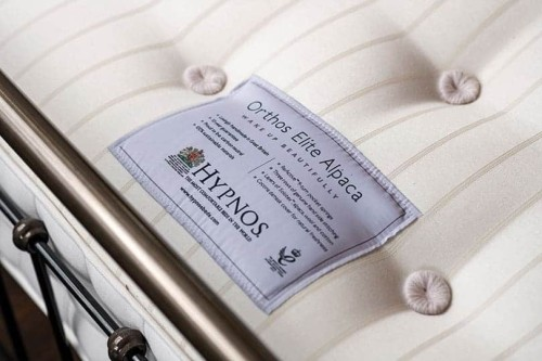 hypnos orthos elite alpaca mattress close up