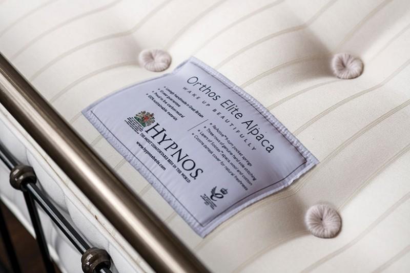 hypnos orthos elite alpaca mattress close up
