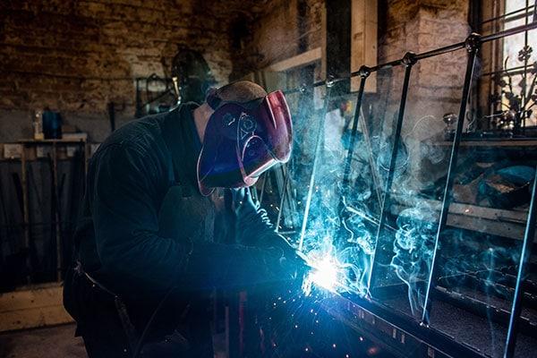 Martin welding iron beds