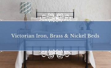 victorian iron, brass and nickel beds guide