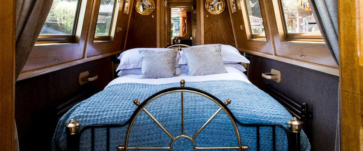bespoke canal boat bed