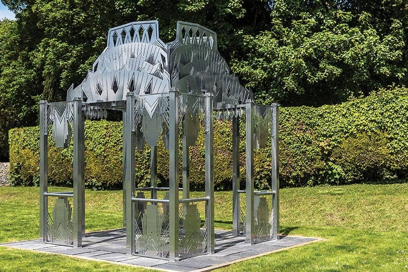 bespoke iron gazebo