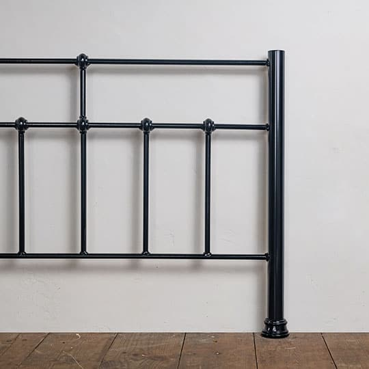 midnight blue bed frame