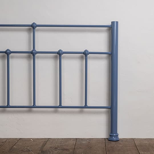 powder blue bed frame