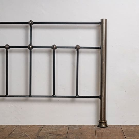 raw metal bed frame