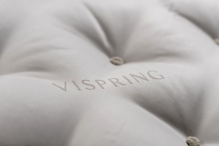 vispring mattress ticking
