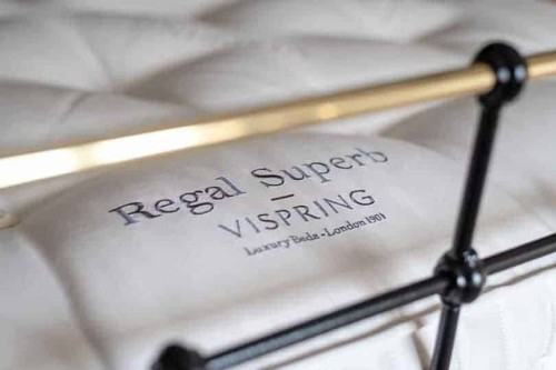 vispring regal superb embroided name image