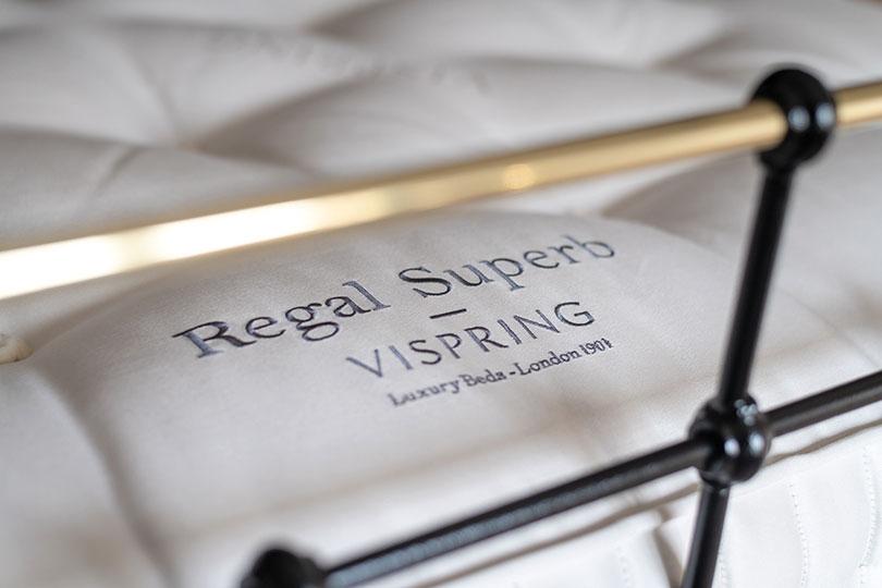 vispring regal superb embroided name image