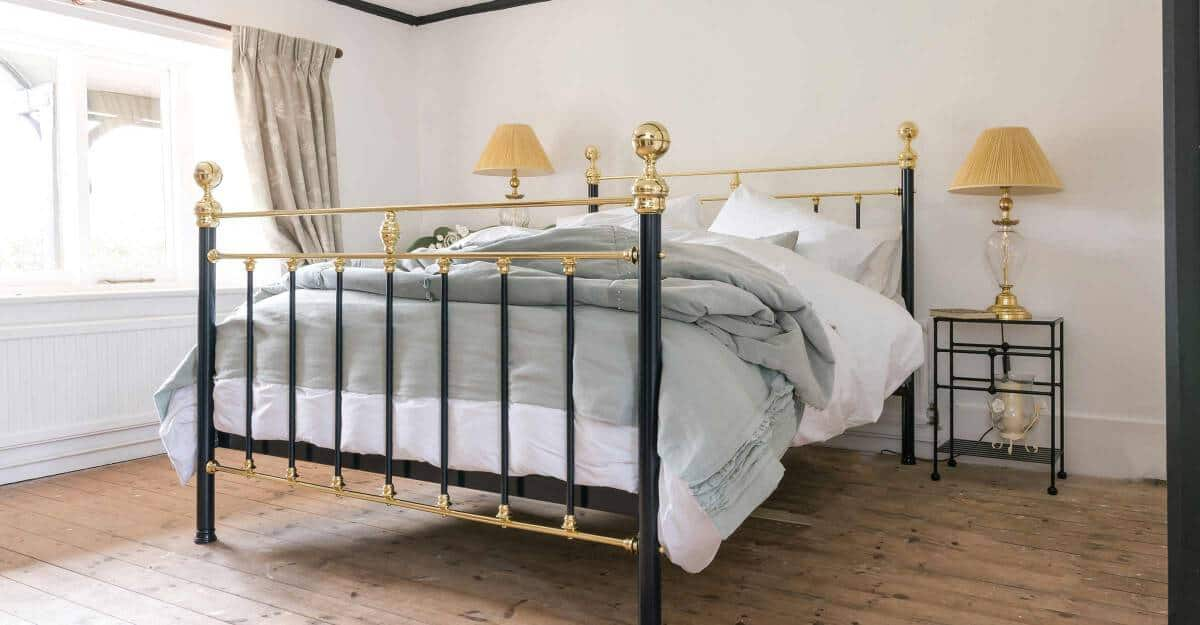 Frederick Iron & Brass Bed