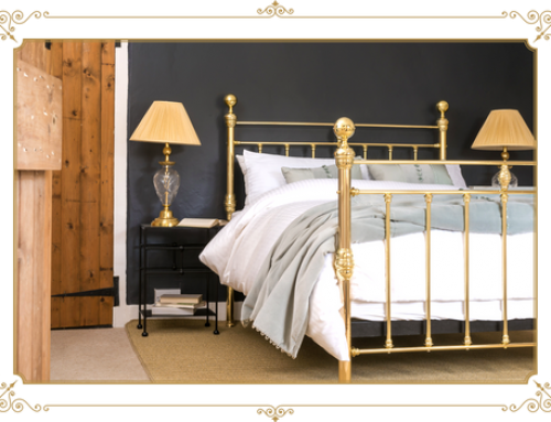 Iron Beds With an Extra Touch Of Opulence